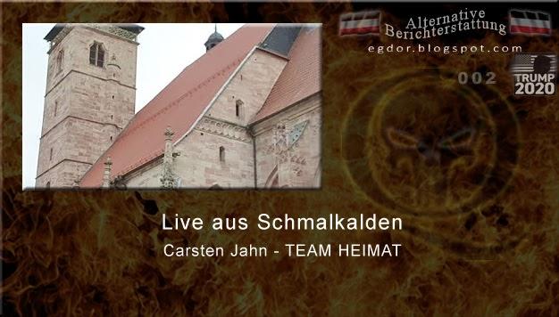 Alternative Berichterstattung Carsten Jahn Team Heimat Live Aus Schmalkalden