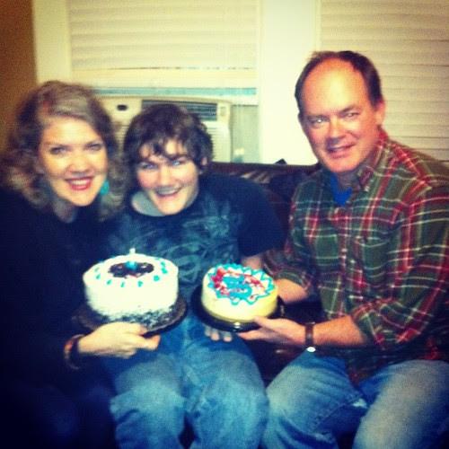 Happy 15th birthday, dear Patrick!