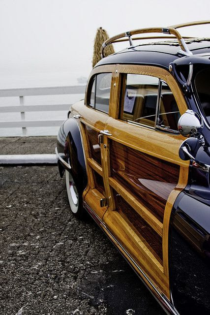 Vintage Woody Car - Classic And Beautiful
