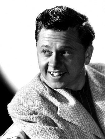 Mickey Rooney Just watching his movies make my day better. What a talented actor,dancer,singer,musician and I'm sure more.