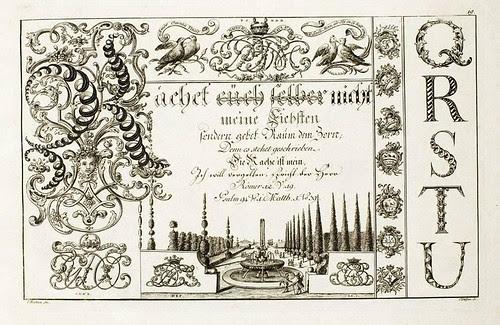 Johann Merken, Liber Artificiosus Alphabeti Maioris 1782 c