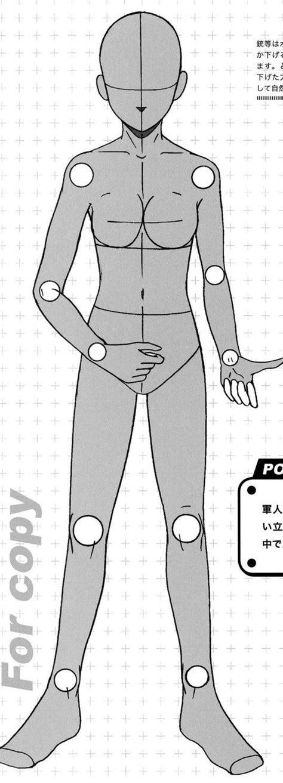 anime  tos full body base images  pinterest