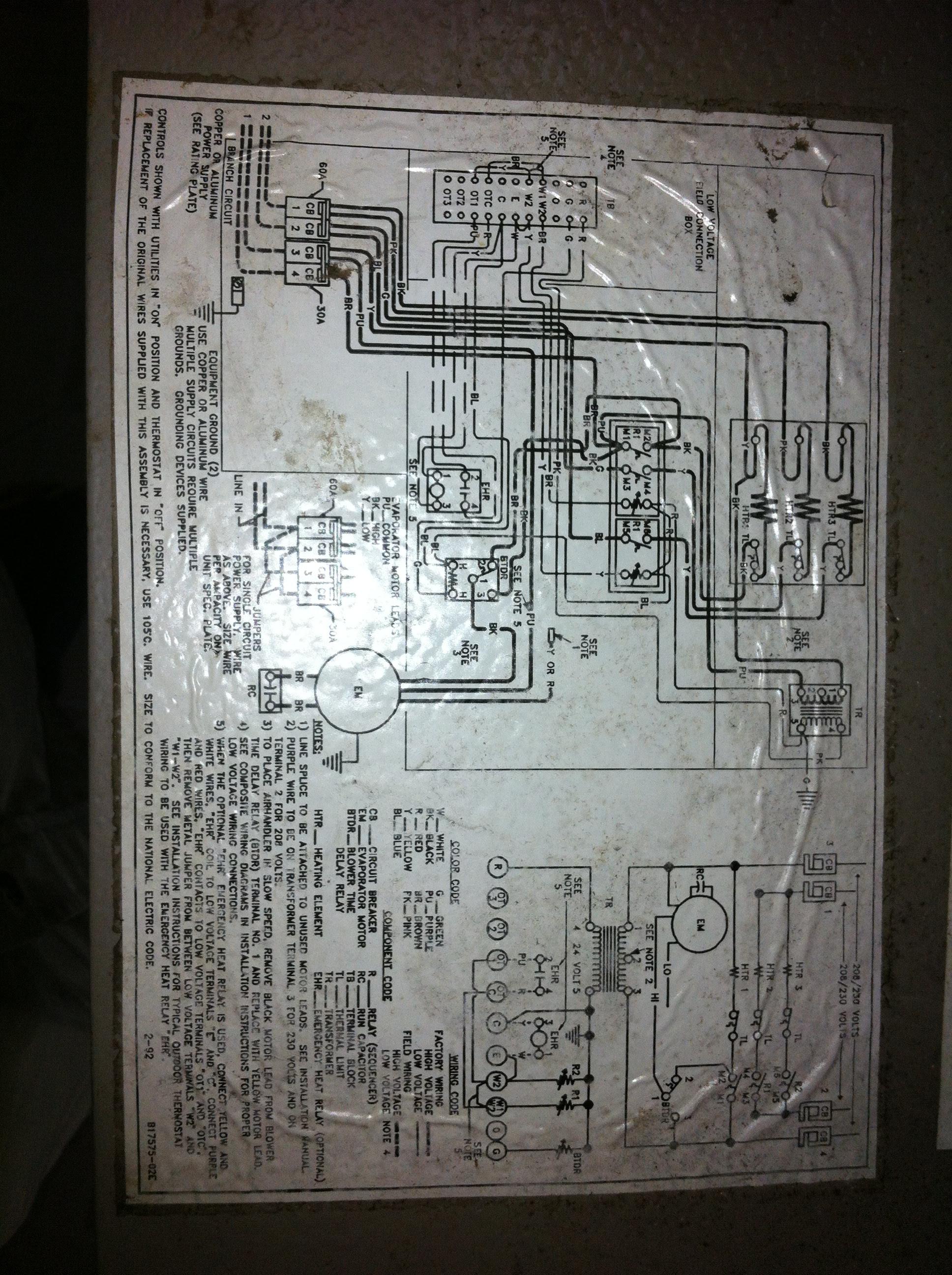 Ruud Wiring Diagram Air Handler