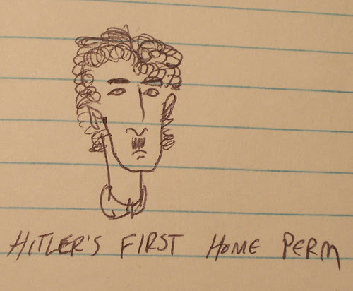 Hitler's first home perm