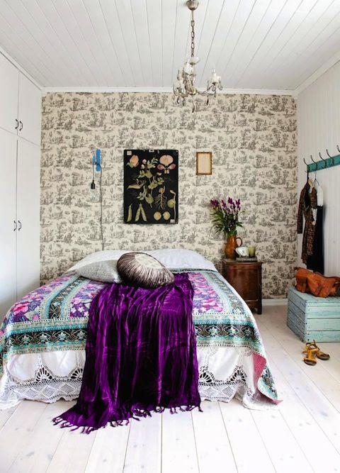 30 Fascinating Boho Chic Bedroom Ideas - ArchitectureArtDesigns.
