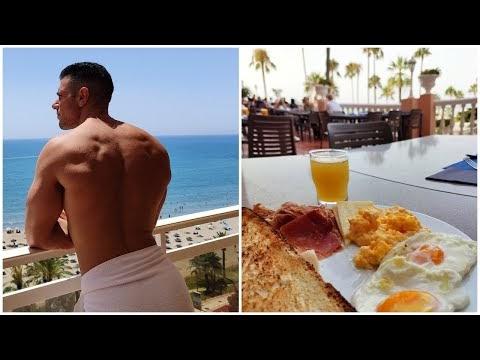 Un día en mi dieta de definición de vacaciones | Costa del Sol
