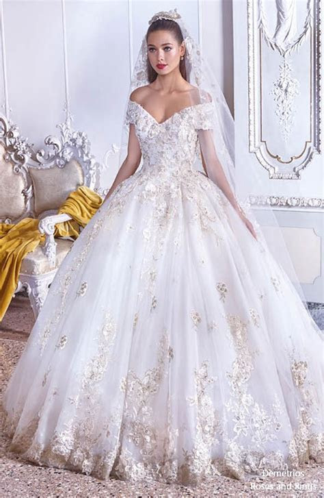 Platinum by Demetrios 2019 Wedding Dresses   Roses & Rings