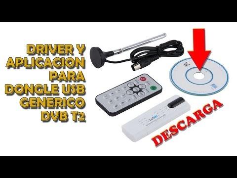 Driver y aplicación para dongle USB TDT DVB T2 Astrometa Tv HD