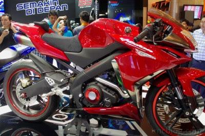 Modifikasi Yamaha New Vixion Full Fairing