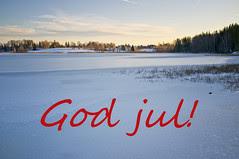 God jul! / Happy Christmas!