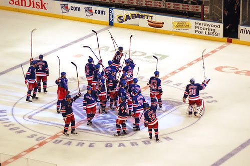 NY Rangers @ MSG - 4/1/07 por Christopher & AmyCate.
