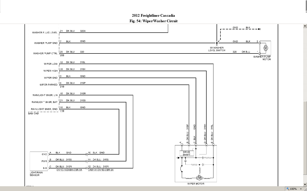 Freightliner Chassis Wiring Diagram Diagram Stream