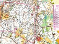 Maps from SM Night on Gotland