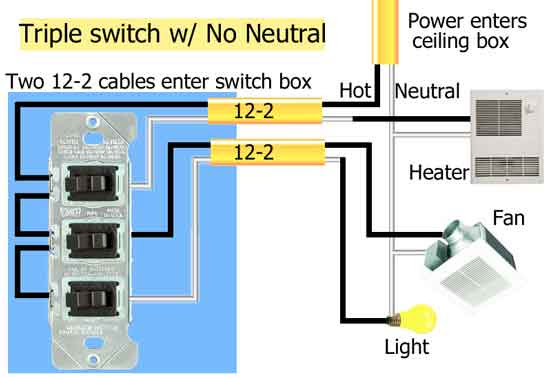 For A Triple Rocker Switch Wiring Diagram