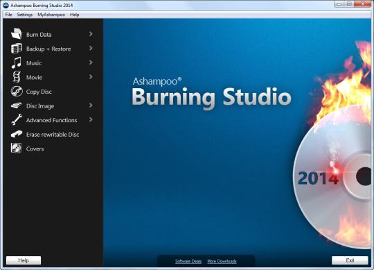 Ashampoo Burning Studio 2014