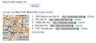Bing Target maps