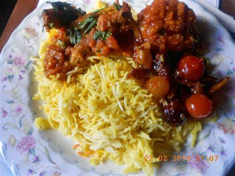 makan minum  resepi nasi briyani ayam masak merah