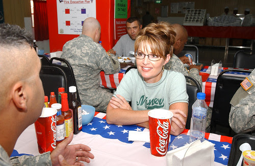 Sarah Palin in Kuwait 2 (High Rez)
