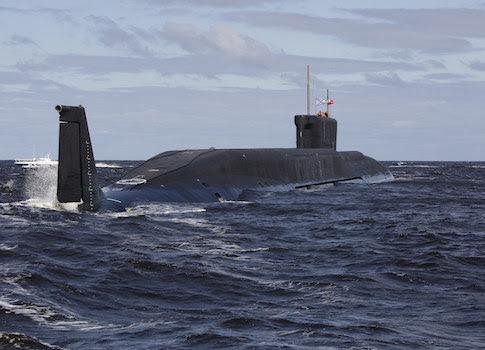 Um submarino / AP russo