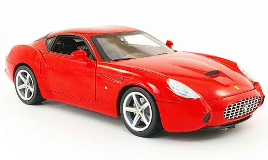 Ferrari 575 Gtz Zagato Red Hot Wheels Diecast Model Car 118