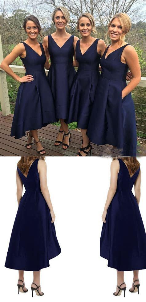 2017 Classic Short Bridesmaid Dress,A line Bridesmaid