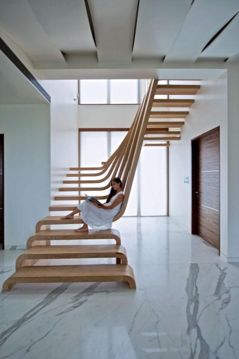Escadas incrivelmente projetadas que estão um degrau acima das demais 21