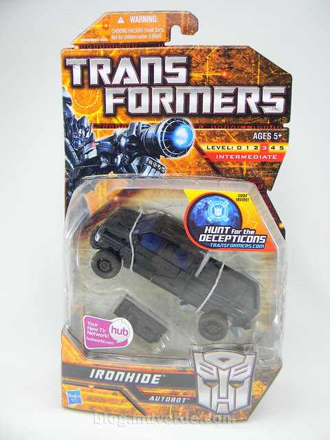 Transformers Ironhide HftD Deluxe - caja