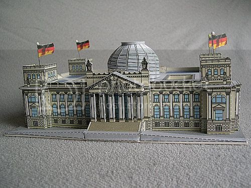 Papermau reichstag building in berlin by bastelbogen for Parlamento on line
