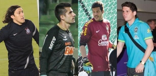 Cássio, Victor, Julio Cesar e Rafael foram alguns goleiros testados por Mano
