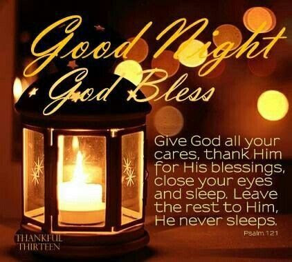 Good Night God Bless Pictures Photos And Images For Facebook