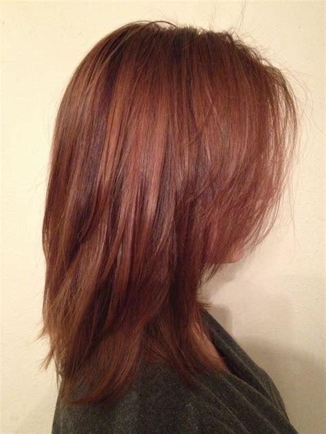 auburn hair  highlights  lowlights yahoo image