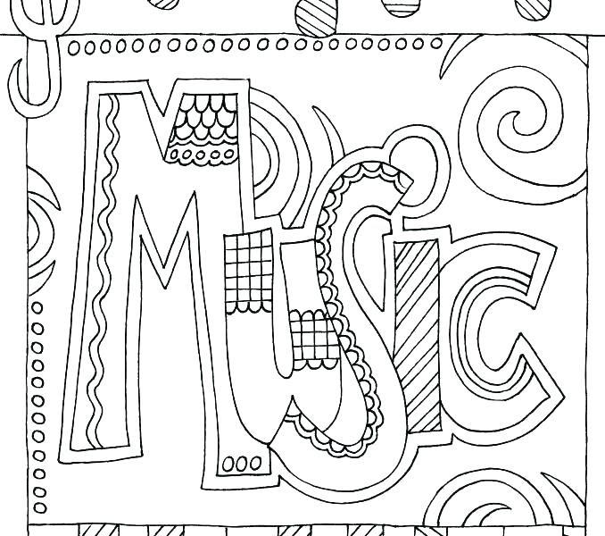 Music Mandala Coloring Pages at GetColorings.com | Free ...