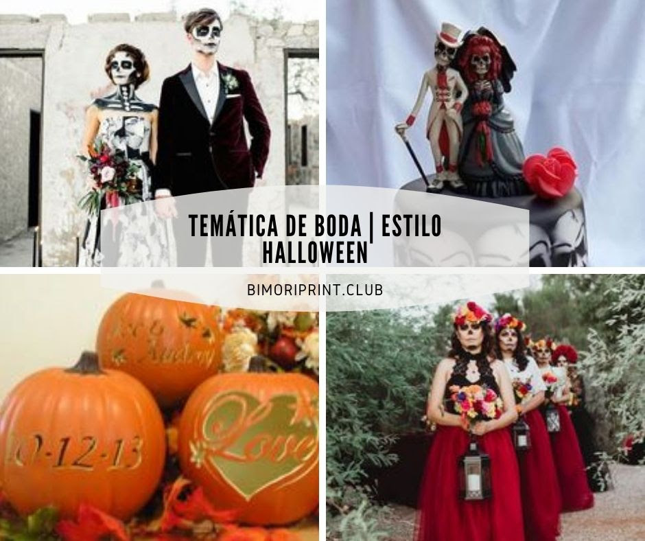 Ideas Para Una Boda Al Estilo Halloween