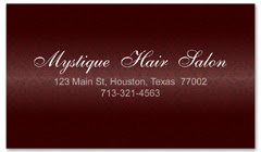 BCS-1109 - salon business card