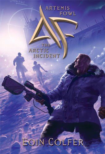 Book Review: Arctic Incident (Artemis Fowl, Book 2), By Eoin Colfer Cover Art