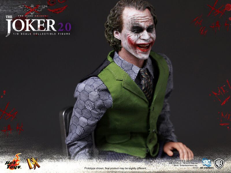 Joker, Batman: The Dark Knight, Hot Toys