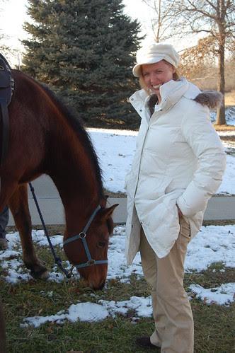 Lauren and the Horse