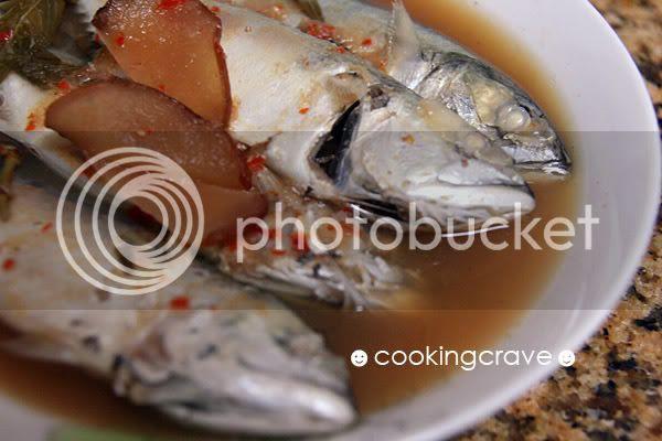 Assam Pedas Ikan Kembung