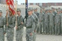 Final Ceremony After Leaving Iraq