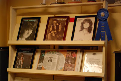 Photo of sheet music of cover versions of Buddy Holly songs - Linda Ronstadt and others