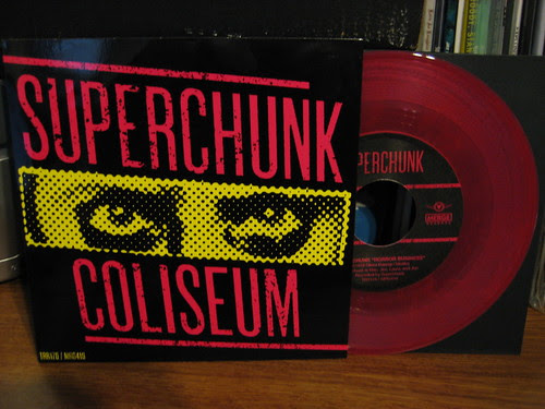 "Record Store Day Haul #1 - Superchunk/Coliseum Split 7"" - Pink Vinyl /666"