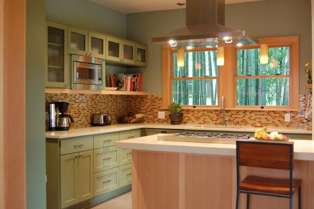 Contemporary Craftsman Kitchen - Craftsman - Kitchen ...
