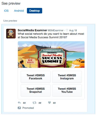 twitter conversational ad instant unlock card
