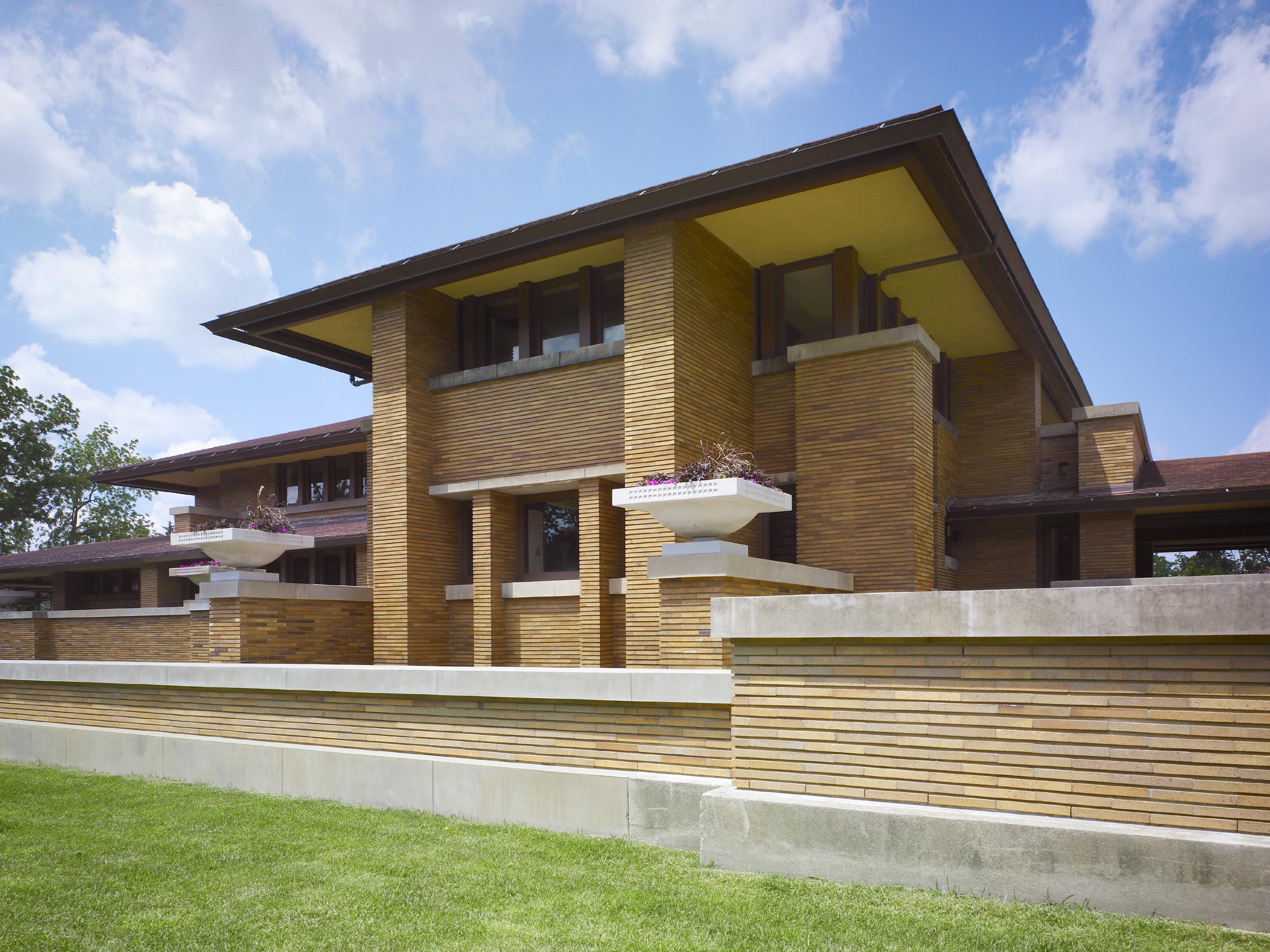 Frank Lloyd Wrights Martin House Restoration Hhl Architects