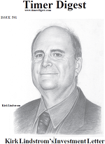 Kirk Lindstrom on Cover of Timer Digest