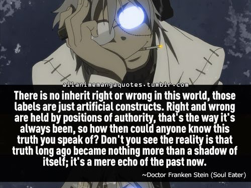 Stein Soul Eater Quotes