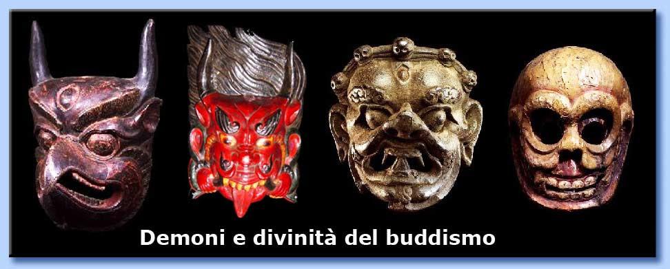 demoni e divinità del buddismo