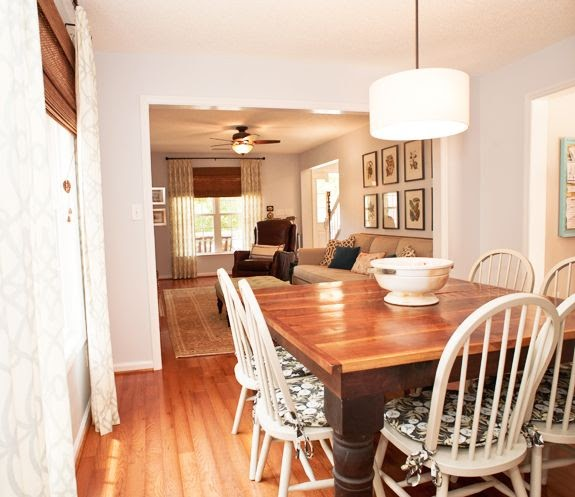 Little Green Notebook: House Tour: Emily And Todd's Dining