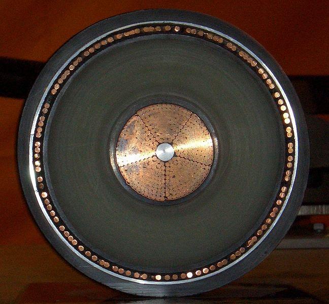 Cable de alta tensión de cobre