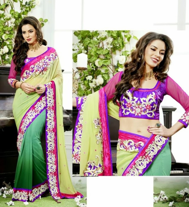 Bridal-Wedding-Rich-Heavy-Embroidered-Sarees-Designs-Lehanga-Style-Fancy-Sari-New-Fashion-7